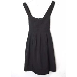 Kimchi Blue UO Black Fit n Flare Dress. Pleated